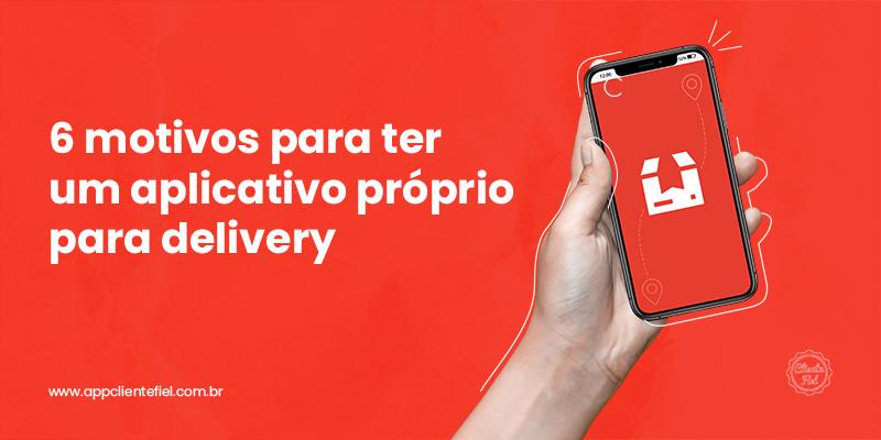 aplicativo para delivery